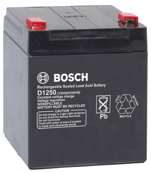 12v 5ah Battery >> Bosch D1250 Battery 12v 5ah Zmr